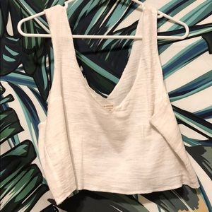 White tank top from UO